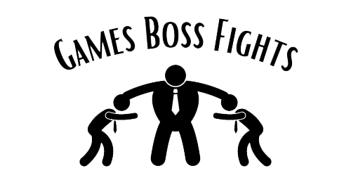 Games Boss Fights Logo, gamesbossfights.com