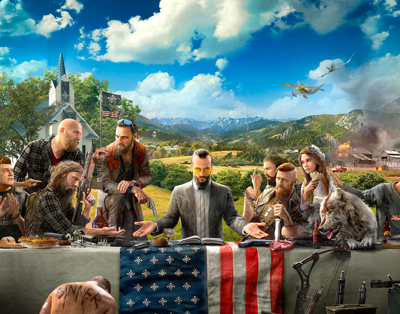 Far Cry 5 - Gold Edition (Xbox One), Games Boss Fights, gamesbossfights.com