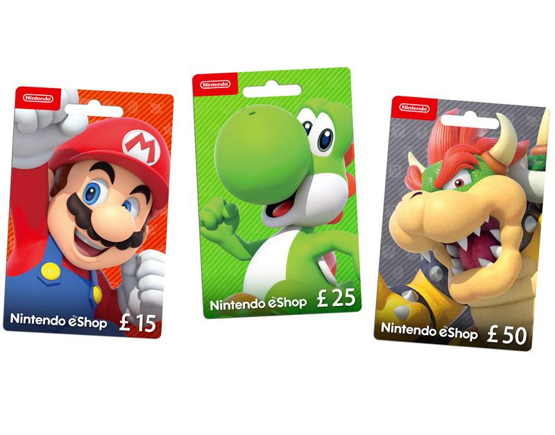 Nintendo eShop Gift Card, Games Boss Fights, gamesbossfights.com