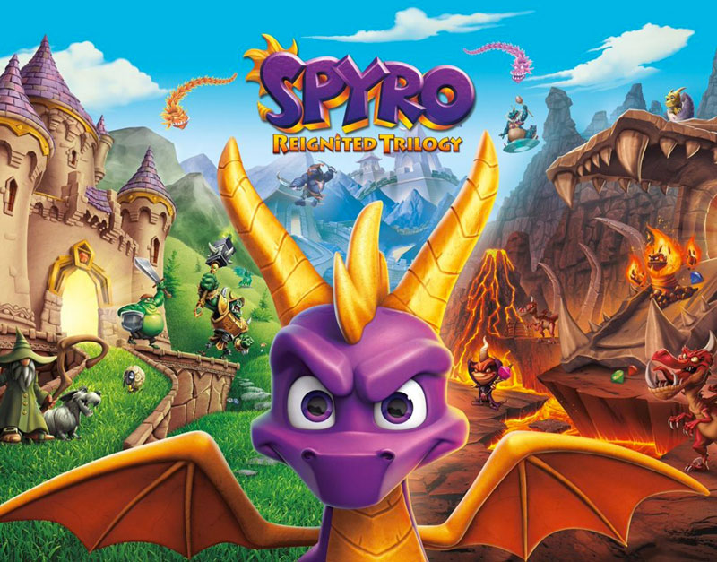 Spyro Reignited Trilogy (Xbox One), Games Boss Fights, gamesbossfights.com